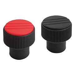 Knurled Knobs, internal thread, inch