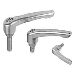 Adjustable Handles, Modern Design Style, stainless steel, external thread, inch
