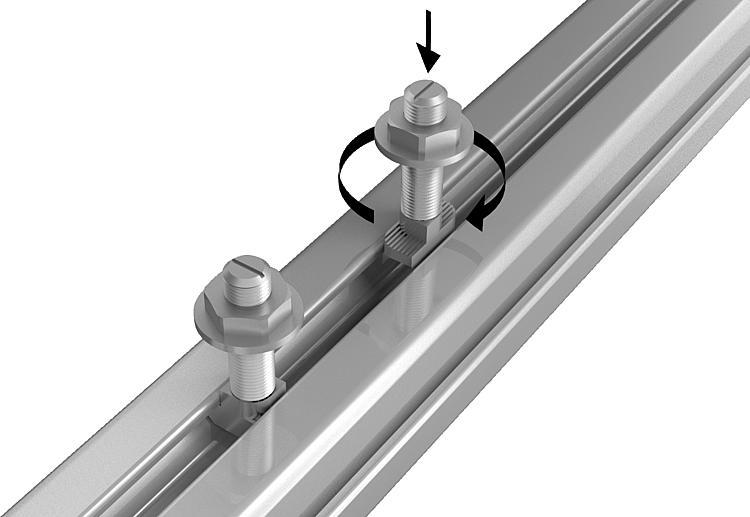 20x Hammer Head Screw m10x25 4.6 Head JD Rhombus Screw//T Bolt