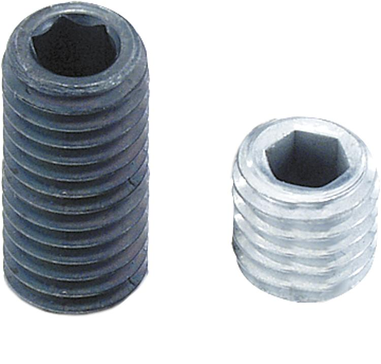 KIPP - Grub screws with hexagon socket and flat point DIN