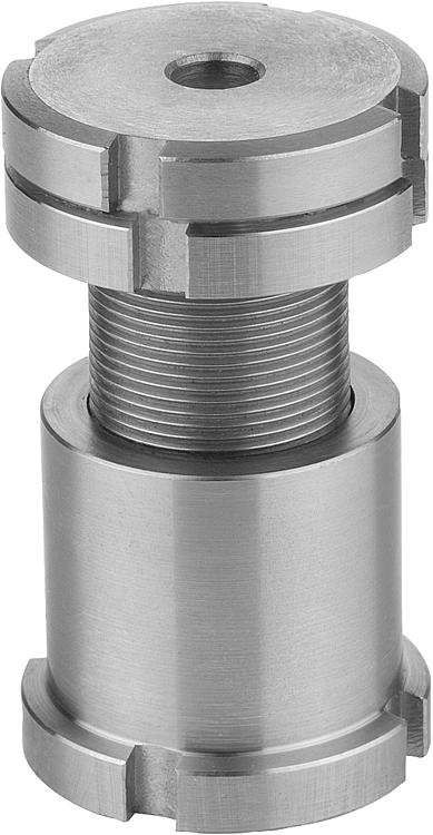 Leveling Parallel Nuts : Kipp height adjustment bolts with counter nuts