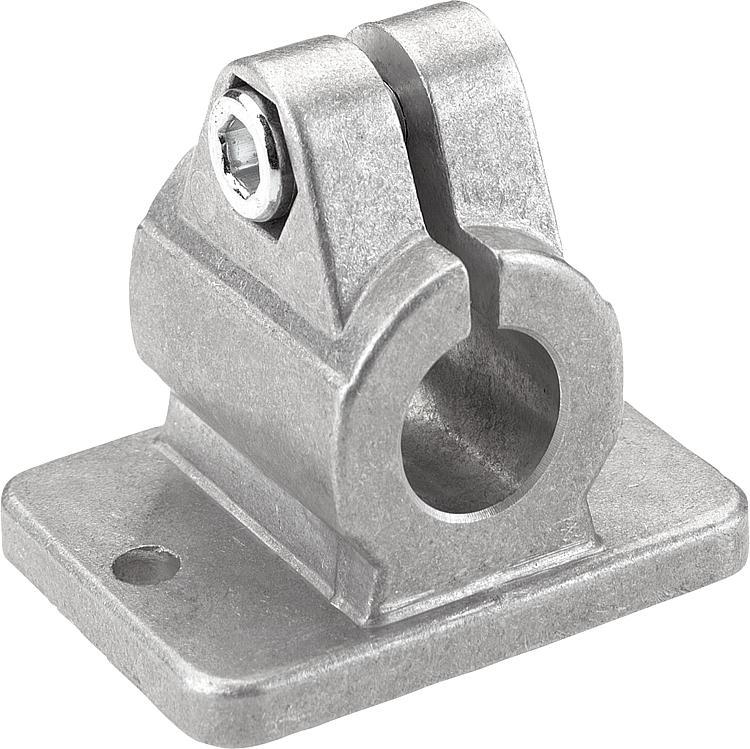 Kipp tube clamps flange aluminum