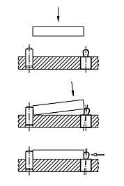 Mounting application for Lateral Spring Plungers