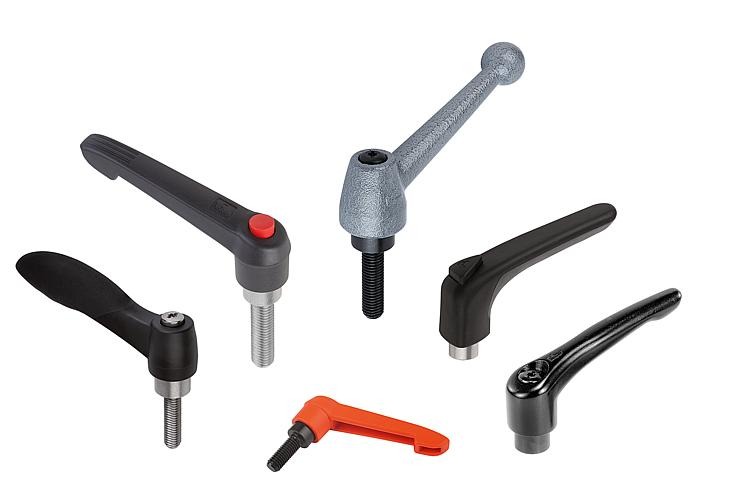 KIPP - Cam Levers, Adjustable Handles & Tension Levers